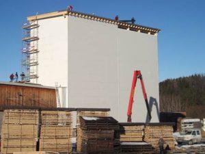 gewerbliche Bauwerke Holzbau Niederösterreich