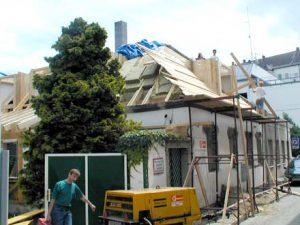 Gebäudesanierung Haussanierung Holzbau Niederösterreich