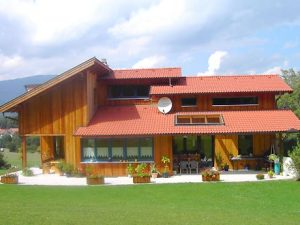 Niedrigenergiehaus Holzbau Niederösterreich