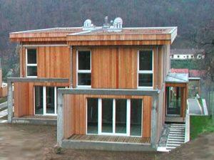 Mehrfamilienhaus Generationenhaus aus Holz - Holzbau Niederösterreich